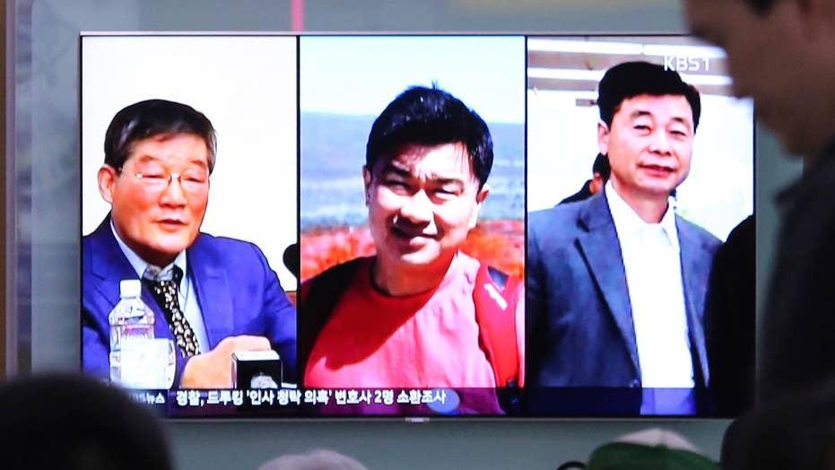 Trump hints North Korea could release American captives soon