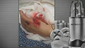 Company sued by consumers who claim they were injured using the machine. FOX11 LA obtained test videos from NutriBullet which appears to show the machine exploding.