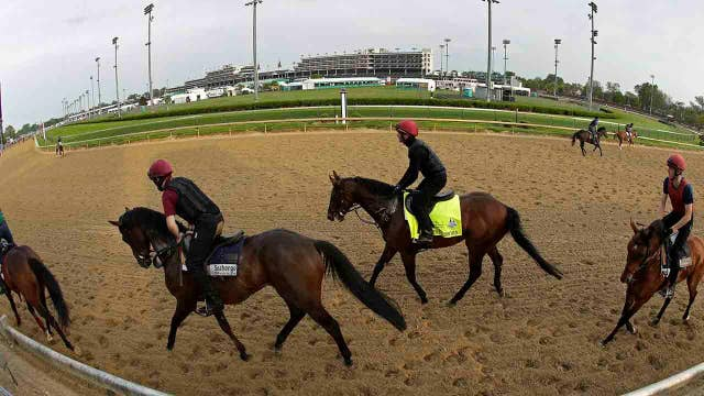 Getting ready for the 144th Kentucky Derby