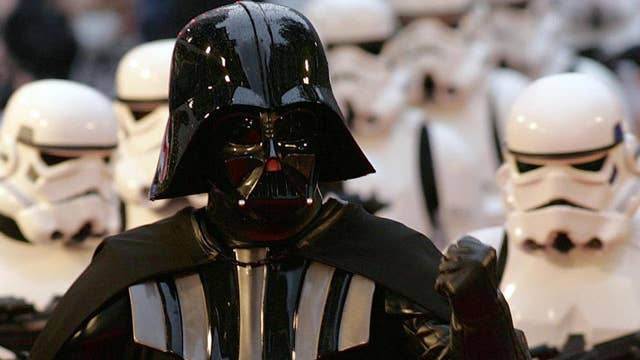 'Star Wars' fans celebrate May the 4th