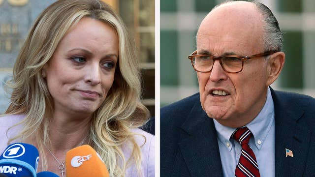 Rudy Giuliani speaks out on Stormy Daniels payment