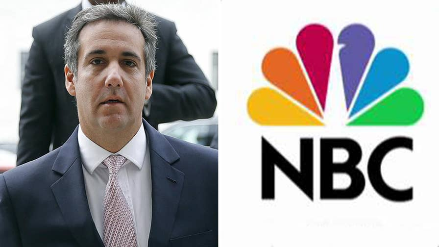 Sources tell Fox News that at least one of Michael Cohen's phones was monitored with a device that records phone numbers dialed; reaction to wiretap report and Stormy Daniels settlement payment on 'The Ingraham Angle.'