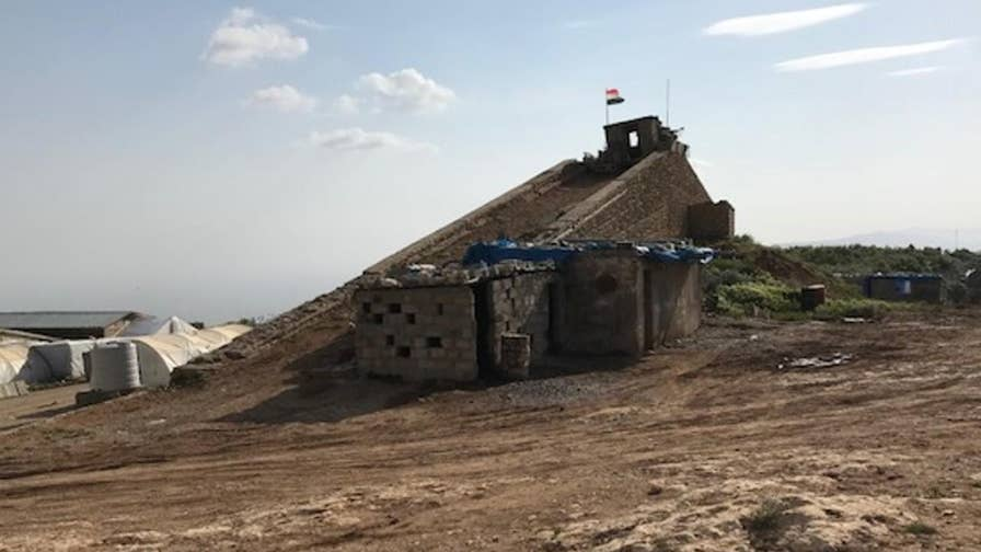 Iran may be working to establish a key strategic foothold at the tip of the 4,800-foot Sinjar Mountain in Iraq that could leave Israel and regional U.S. forces in the crosshairs of potential attacks.