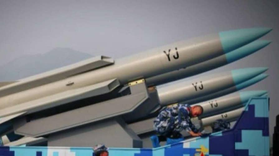 China ramps up activities in the South China Sea as the nuclear situation in North Korea dominates the region's attention; Gillian Turner reports from Washington.