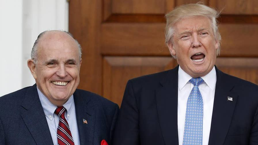 Rudy Giuliani says settlement was to resolve a personal matter and was not a campaign violation; the 'Special Report' All-Star panel weighs in on this and the judge who spoke out at Manafort hearing.