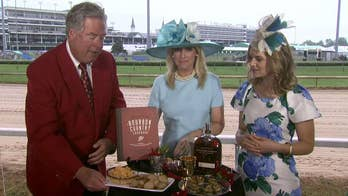 Janice Dean enjoys Kentucky Derby traditions at Churchill Downs.