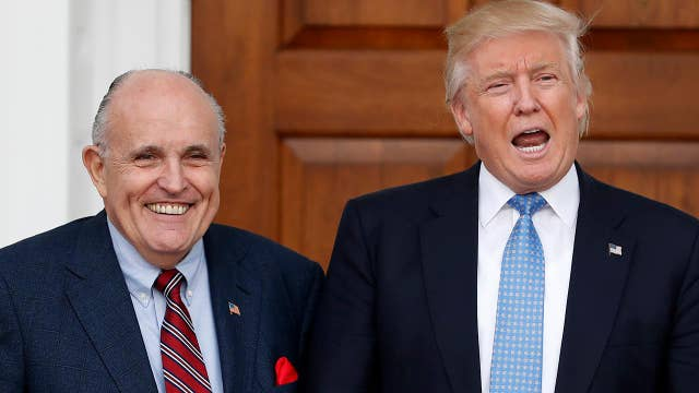Trump distances himself from Giuliani's payment comments