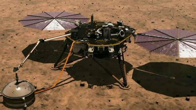NASA's InSight lander heads to Mars