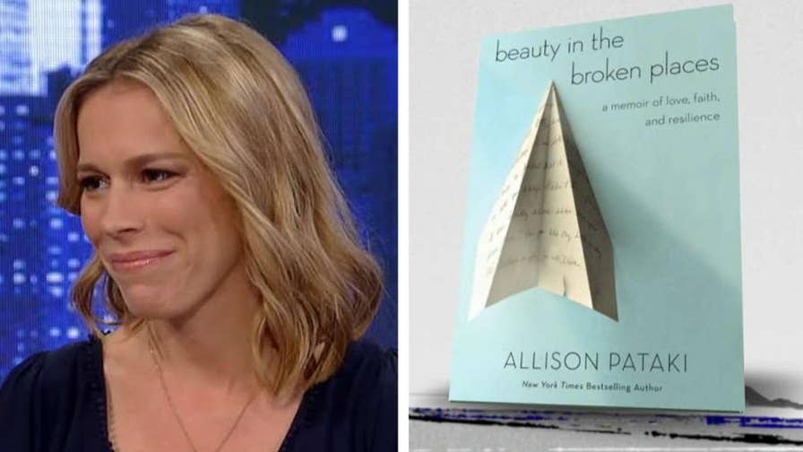 Allison Pataki discusses her memoir 'Beauty in the Broken' and what happened after her husband suffered a stroke on a flight.