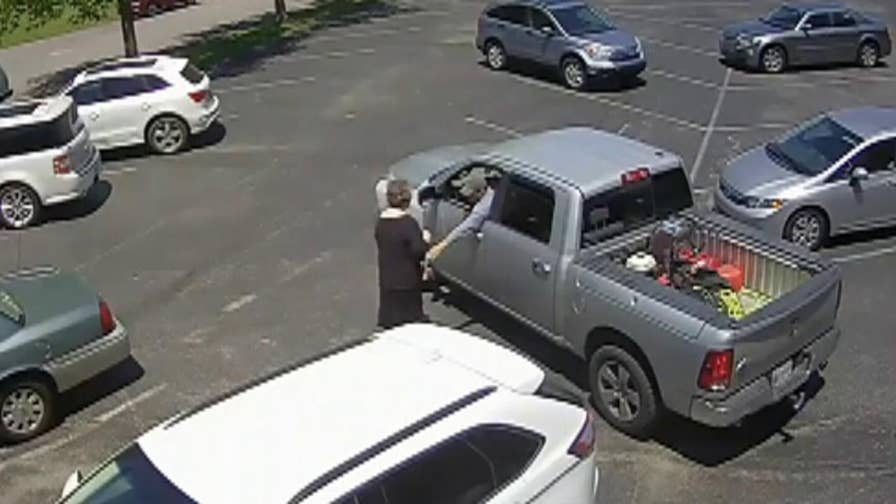 CCTV footage of church parking lot robbery courtesy of Metro Nashville Police Department.