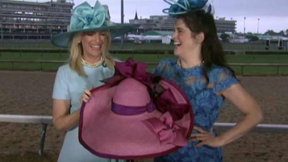 Janice Dean shares a look at the hats of the Kentucky Derby