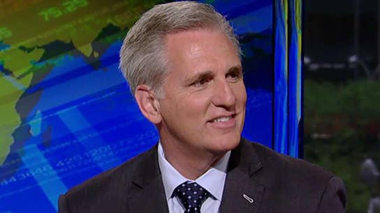 Rep. McCarthy: Scary to think of Pelosi becoming speaker