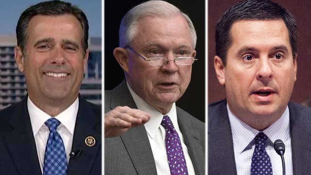 Rep. Ratcliffe on Nunes' calls to hold Sessions in contempt