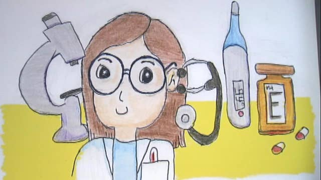 Third-grader is a finalist in Google Doodle contest