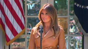 First lady announces 'Be Best' program focusing on well-being, fighting opioid abuse and positivity on social media.