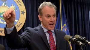 New York Attorney General Eric Schneiderman responds to several allegations of physical abuse.