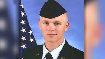 Member of the Air National Guard was stabbed in the chest and died on the side of a highway in Missouri. Mike Tobin has the details on the investigation.