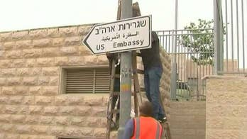 President Trump recognized Jerusalem as Israel's capital in December.