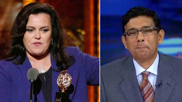 Dinesh D'Souza: Rosie O'Donnell broke the law 5 times