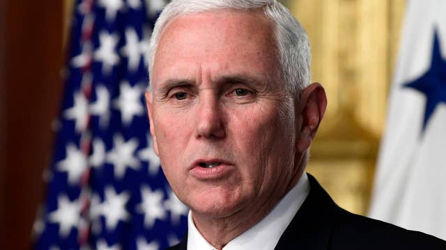 VP Pence meeting with UK's foreign secretary