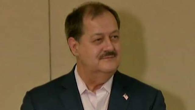 Blankenship reacts to Morrisey's attempt to disqualify him