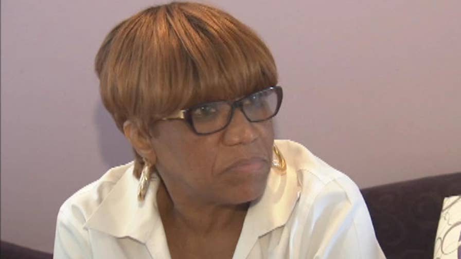 70-year-old Maxine Thompson grabbed her late mother's handgun and shot at the intruder.