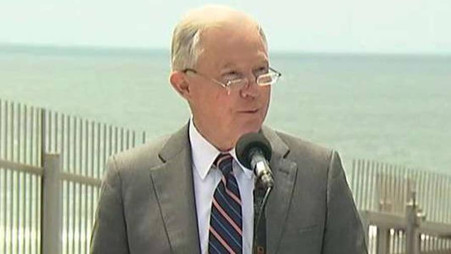 Attorney General Jeff Sessions holds news conference on immigration enforcement actions.