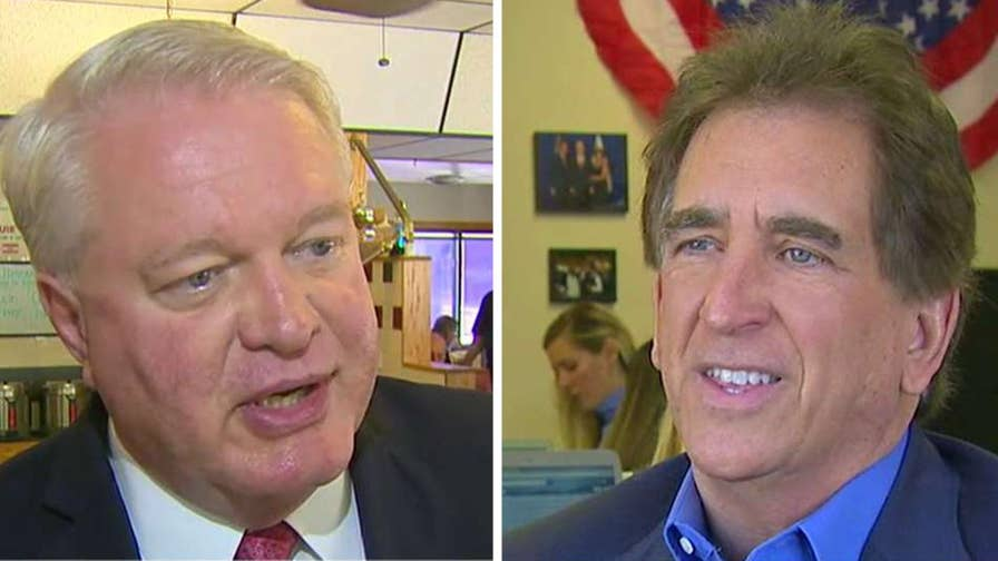 Senate hopeful Mike Gibbons is suing his Trump-endorsed opponent Rep. Jim Renacci; Ellison Barber reports from Cleveland.