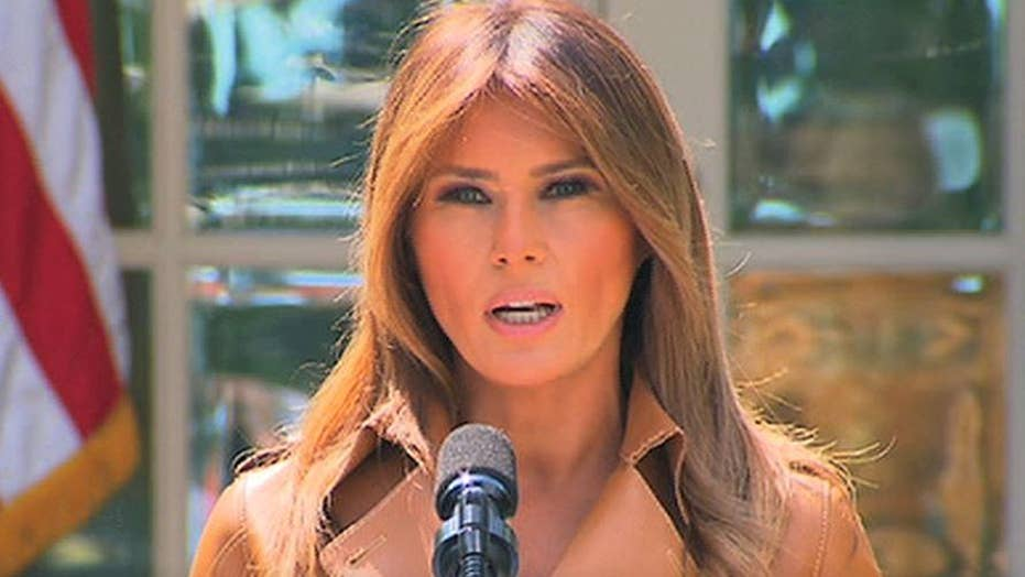 First Lady Melania Trump's policy agenda: Highlights