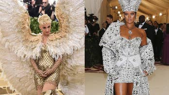The Met Gala showcased an exhibition of items from the Vatican and other catholic-inspired artistic items. To match the theme, stars were asked to arrive in garb that showcased the imagination of the catholic church. However, some stars like Rihanna and Katy Perry may have taken the theme a bit too far.