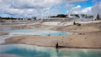 Yellowstone geyser eruption reveals decades of trash buildup