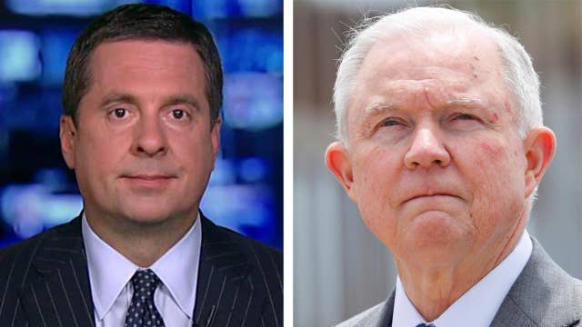 Nunes accuses Department of Justice of stonewalling