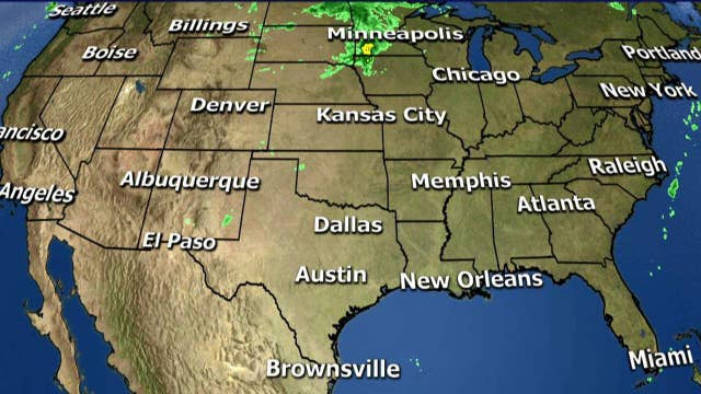 National forecast for Tuesday, May 8