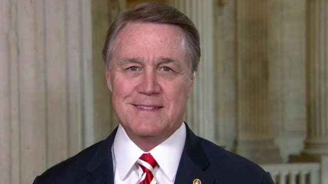 Sen. David Perdue calls to delay August recess