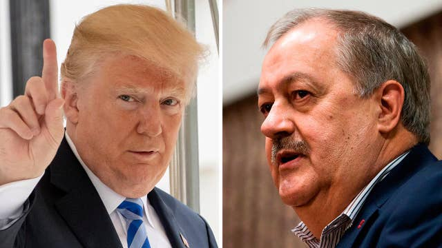 President Trump rejects West Virginia's Don Blankenship