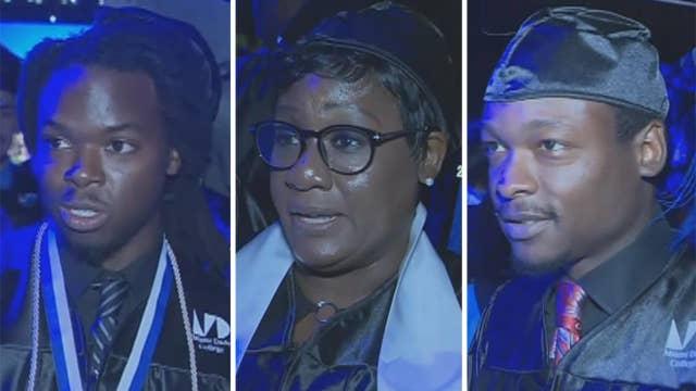 Graduation ceremony becomes a family affair