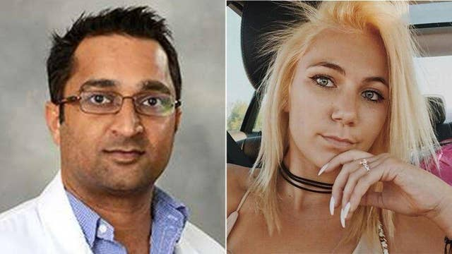 Aspiring model found dead in doctor's home after night of sex, drugs and alcohol