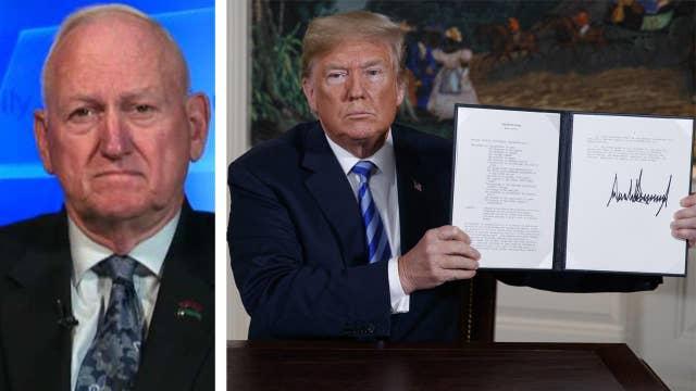 Lt. Gen. Boykin is proud of Trump's choice on Iran deal