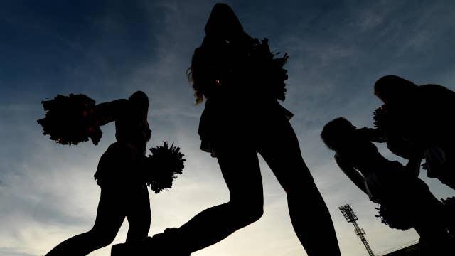 Controversy over school's all-inclusive cheerleading policy