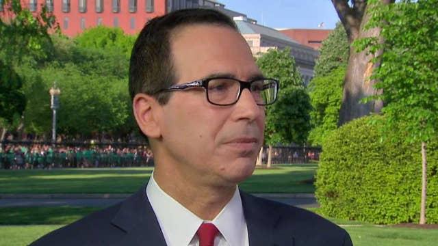 Steve Mnuchin says Iran sanctions begin now