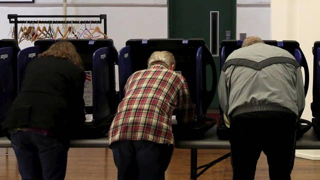 Polls set to close momentarily in key primaries across US