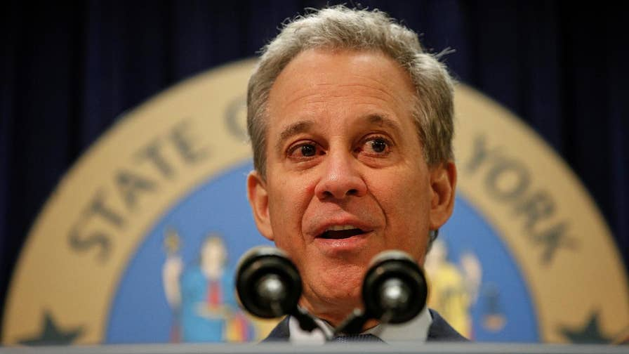 Disturbing allegations against Eric Schneiderman, one of President Trump's fiercest critics and outspoken voice for women's rights; Trace Gallagher reports.