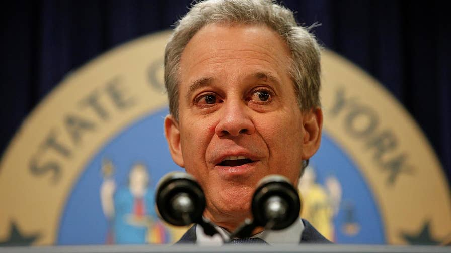 Report: Four women accuse the New York attorney general of physical abuse. Laura Ingle reports from New York City.