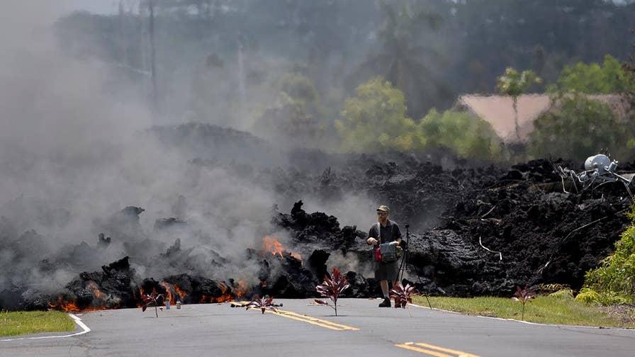 Two more fissures open up on Big Island. William La Jeunesse reports from Hawaii.