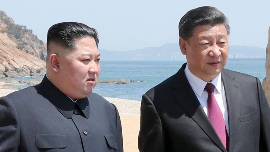 The stealth summit, announced by China state television after Kim had flown out of the country, comes ahead of high-stakes nuke talks with the United States; Greg Palkot reports from London.