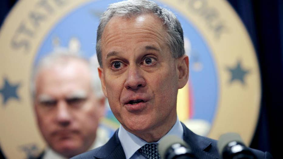 New York AG Eric Schneiderman resigns amid abuse allegations