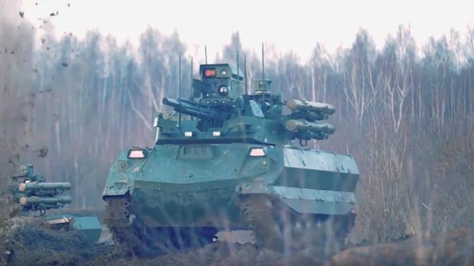 Russia's new robo-tank to debut at Moscow Victory Day parade