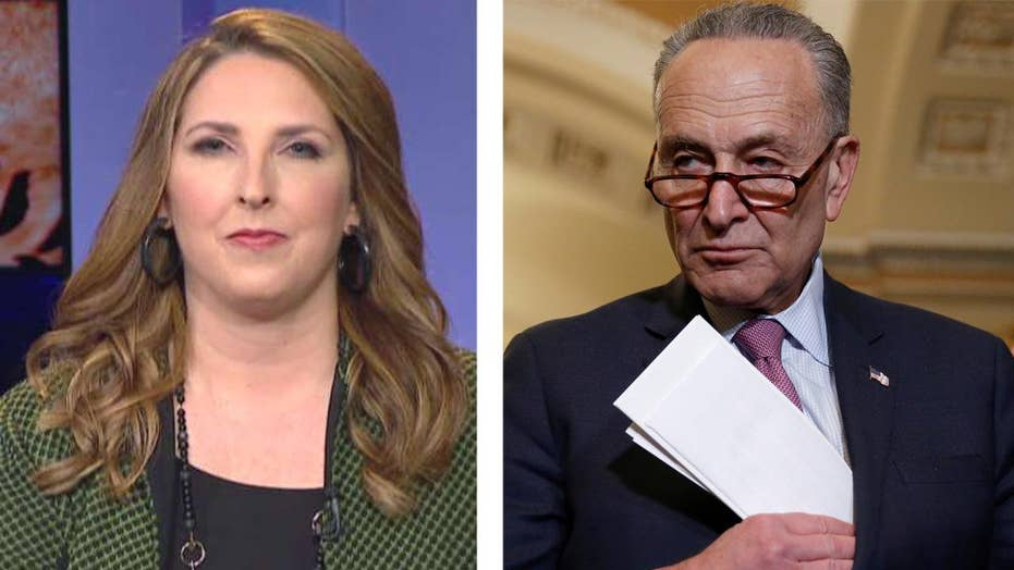 Ronna McDaniel: Chuck Schumer is playing his partisan role