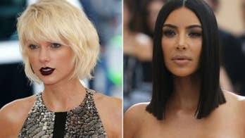 Taylor Swift kicked off her tour on Tuesday night addressing Kim Kardashian's tweets calling her a snake.