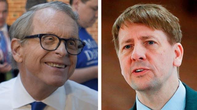 DeWine, Cordray win Ohio gubernatorial primaries